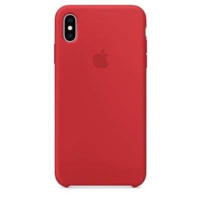 iPhone XS Max 실리콘 케이스 - (PRODUCT)RED [MRWH2FE/A]