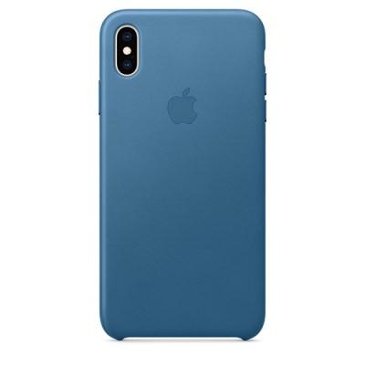 iPhone XS Max 가죽 케이스 - 케이프코드 블루 [MTEW2FE/A]