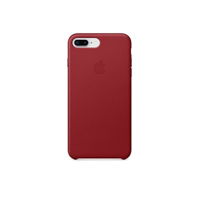 iPhone 8 & 7 Plus 가죽 케이스 - (PRODUCT)RED [MQHN2FE/A]