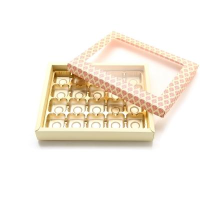 초콜릿박스 20구 핑크 사각_(1199618)