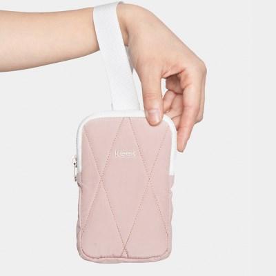 keek 퀼팅 포켓 - Pink