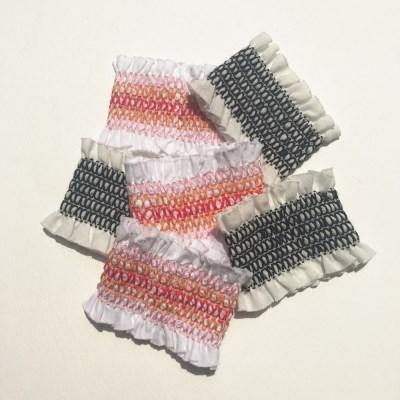BRACELET-corset (코르셋 팔찌:신축성 좋은 밴드형)