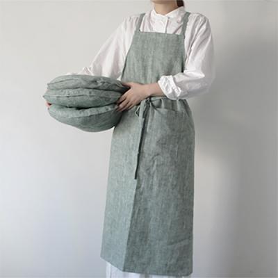 어반 헤링본 앞치마(3color)