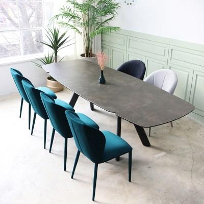 flying spur 플라잉스퍼 스페인 천연 세라믹 확장형 식탁 테이블