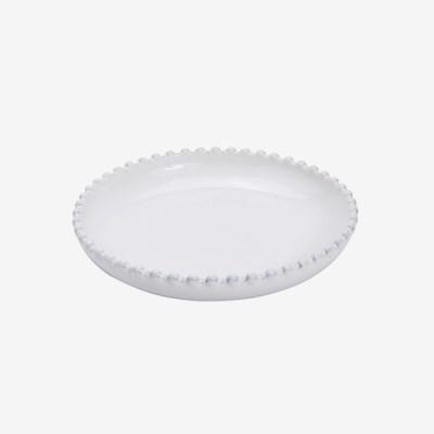 [코스타노바] 화이트펄 18cm 디저트접시