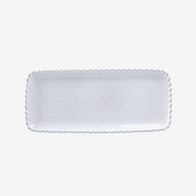 [코스타노바] 화이트펄 30cm 직사각접시