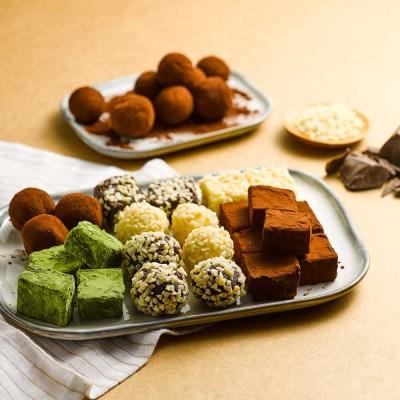 피나포레 발렌타인 파베 다크&화이트 ALL 세트 DIY 초콜릿 만들기