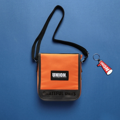 UNION COVER CROSS BAG - ORANGE_(1126912)