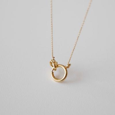 [925실버] 빅 고리 목걸이 big loop necklace