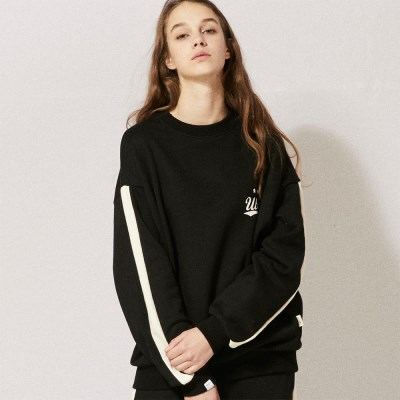 LT271_Side Line Sweatshirts_Black