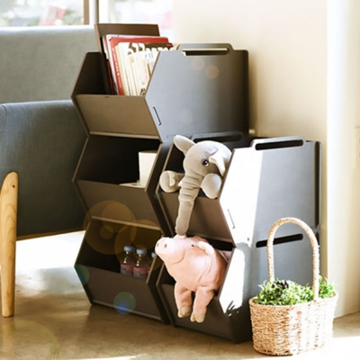 런메이크 디자인 정리함-공간박스 다용도선반 수납장 장난감
