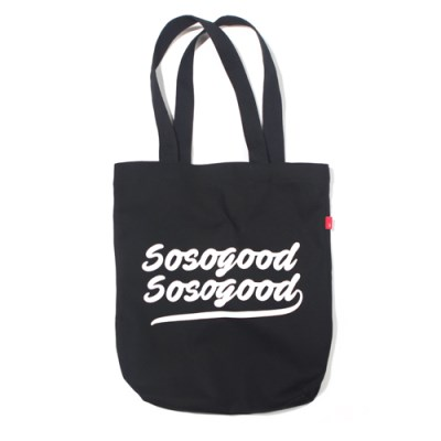 SSGSSG ECO BAG-BLACK
