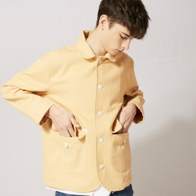 OL131_UBDTY Oxford Jacket_Yellow