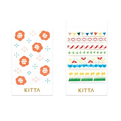 [KITTA Slim] 포켓형 마스킹 테이프_KITS004 페스티벌