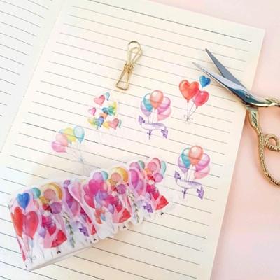 풍선소녀의 여행 마스킹 테이프