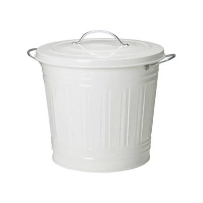 이케아 KNODD 휴지통(16L) Bin with lid