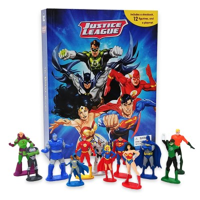 JUSTICE LEAGUE MY BUSY BOOK 피규어북