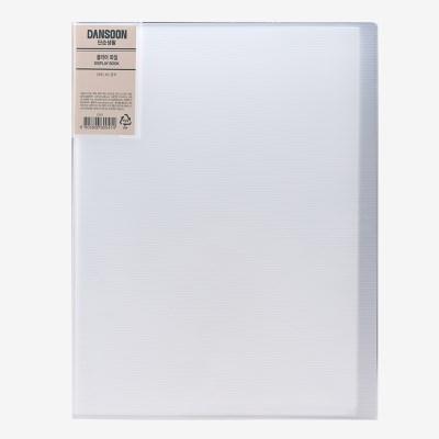 클리어파일 A4 40매 흰색