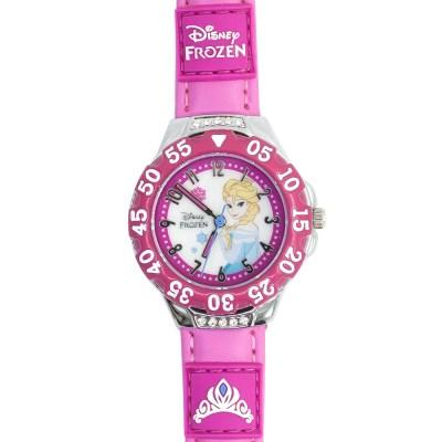 디즈니 JTD-16 엘사 시계 진핑크_(885256)