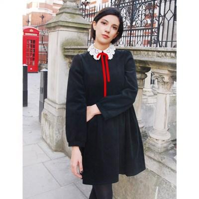 [민타레트로]Emma Corduroy Dress
