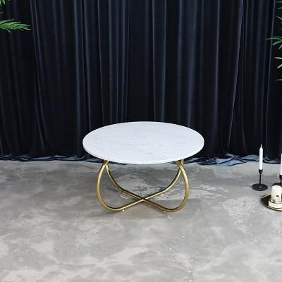 오스카 이태리 천연 대리석 거실 소파 테이블