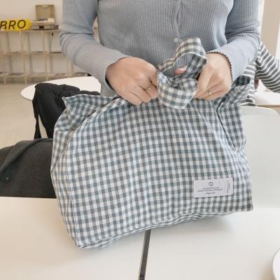 Check square bag ( 2colors )