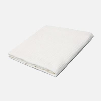 [룰라바이] White Lace Gauze Blanket 화이트 레이스 거즈 블랭킷