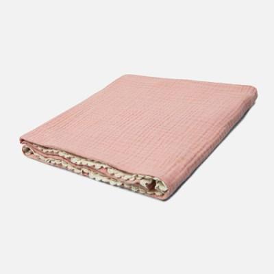 [룰라바이] Pink Lace Gauze Blanket 핑크 레이스 거즈 블랭킷