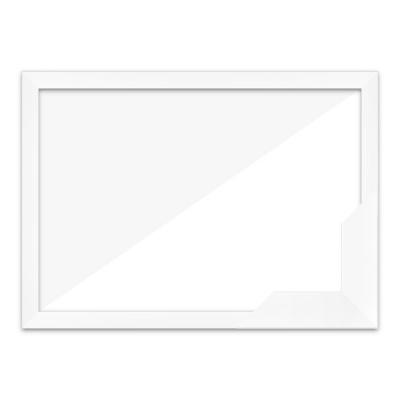퍼즐액자 51x73.5 고급형 슬림 우드 화이트