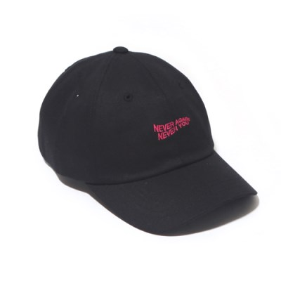 NANY CURVED CAP-BLACK