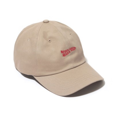 NANY CURVED CAP-BEIGE