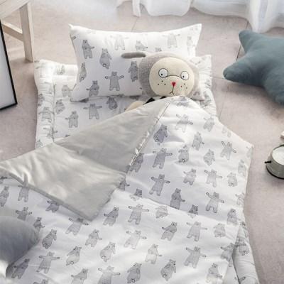 리틀허니베어 토퍼형 유아 낮잠이불세트