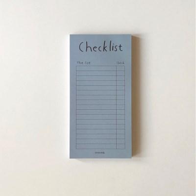 Blue gray checklist