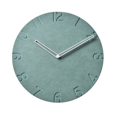 컬러보드벽시계 large280/넘버그린