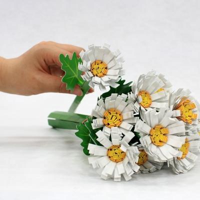 [DNA PaperToy] 국화꽃 만들기/페이퍼플라워/꽃만들기