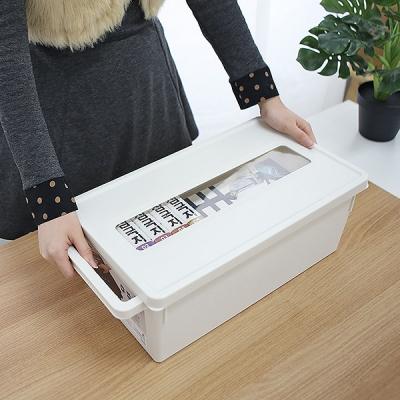 일본생산 공간활용 소품정리 컨테이너 리빙박스 452_(958261)