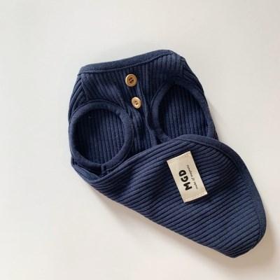 [T.멜라인민소매]Melain sleeveless T_Blue