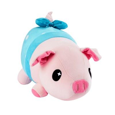 피그피기 말랑말랑 아기 돼지인형 25CM 블루_(1124580)