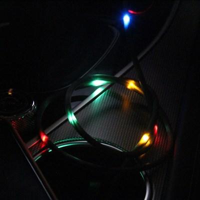 센세이션 LED 사운드 센서 고속 충전 케이블_(2369593)