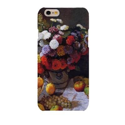 명화 모네 꽃과 과일 하드 케이스