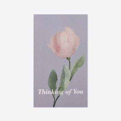 꽃, 너를생각해 스티커(5장,낱개로10개)