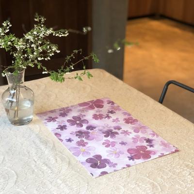 차리다 페이퍼매트 No.7 - Lilac Blooming