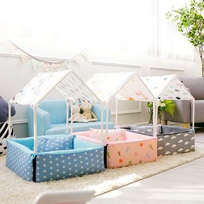 강아지 베이비 텐트 하우스 방석