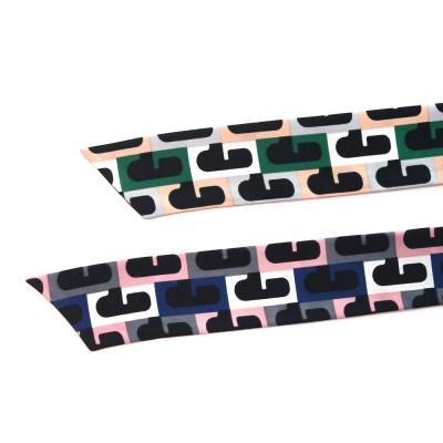 디자인 퍼즐 트윌리 스카프 (2 colors)