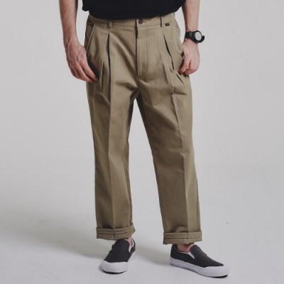 HBT wide pants_BEIGE