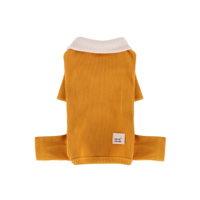 [A.삼각골지카리올인원]triangle golgi collar A_Yellow