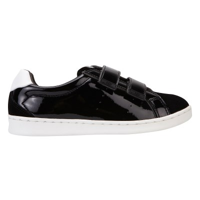 [PIER4]Pure sneakers_Black_velcro