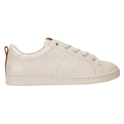 [PIER4]Pure Lace up sneakers_Beige