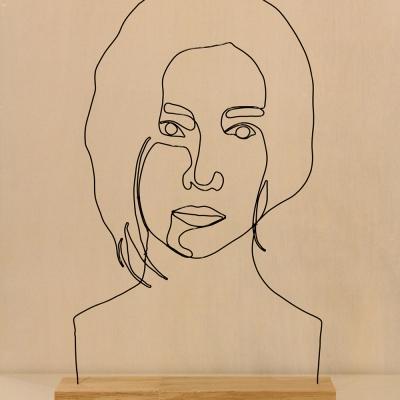 [텐텐클래스] (용산) 와이어 초상화 만들기 원데이클래스