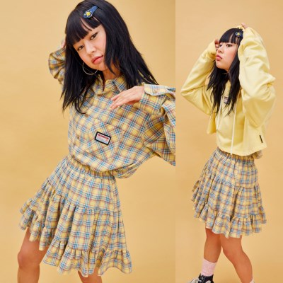 19SP CANCAN SKIRT Yellow